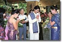 VCI Villa Thai Traditional Wedding VCIヴィラ・タイ式伝統ウェディング