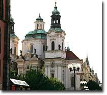 St.Nicolas Church 聖ミクラーシュ教会[旧市街広場]