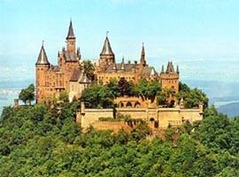 Burg Hohenzollern ホーエンツォレルン城