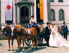 Der Furstensaal in Fussen 聖マンク修道院内