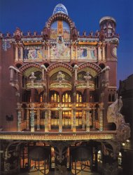 Palau de la Música Catalana カタルーニャ音楽堂