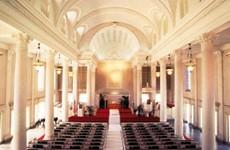 Centoral Union Church-Sanctuary セントラル ユニオン教会 大聖堂
