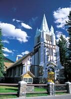 Banff's St.Paul's Presbyterian Church バンフ・セントポール・プレスビテリアン教会