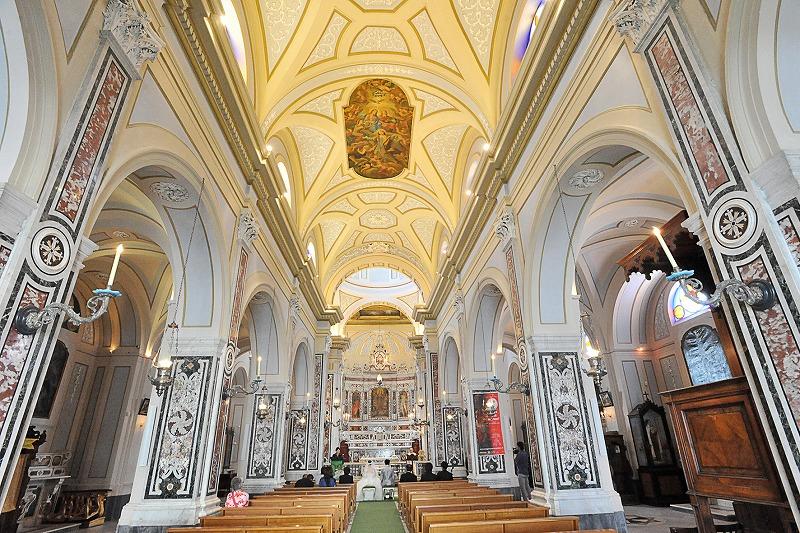 イタリア アマルフィ挙式 サンタマリアマッダレーナ教会ウエディング F.T様 F.M様