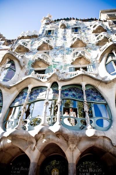 スペインウエディング カーサ・バトリョ邸挙式 S.K様・Y.Mご夫婦