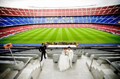 スペイン挙式(バルセロナ)トレ・デル・ピ ウエディング Y.S様・M.Kご夫婦