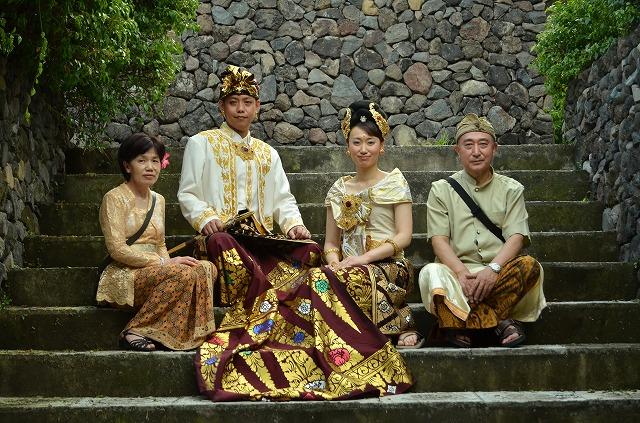 バリ島挙式 ヌサドゥア教会ウエディング&バリ式(バリ婚礼衣装)フォトツアー